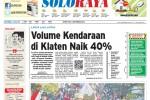 Halaman Soloraya Harian Umum Solopos edisi Senin, 1 September 2014