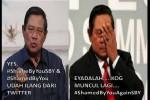 Hashtag SBY jadi Trending Topic (twitter)