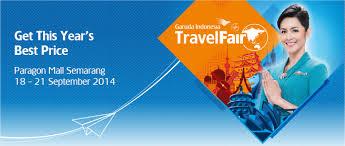 Ilustrasi Garuda Indonesia Travel Fair 2014 (Twitter.com)