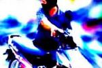 PENCURIAN SEPEDA MOTOR : Apes, Maling sepeda Motor Ketahuan, Beginilah Jadinya