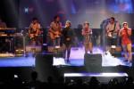 Trio CJR membawakan lagu Terhebat saat konser Always in Your Heart di Sritex Arena, Sriwedari, Solo, Jawa Tengah, Minggu (21/9/2014). Dalam bagian tur konser yang dilaksanakan di empat kota itu, CJR membawakan 16 lagu dengan durasi 2,5 jam. Penampilan mereka tentu saja memuaskan comate—sebutan bagi para penggemar boy band anak baru gede itu—di Kota Solo. (Septian Ade Mahendra/JIBI/Solopos)
