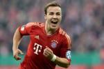 Gelandang serang Bayern Munich Mario Gotze menciptakan gol di pekan keenam. Ist/footie.co.za