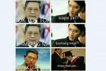 Meme 'Tok Tok Tok' versi SBY dan Ibas (twitter)