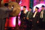 Sejumlah personel Dewan Pengurus Pusat Partai Kebangkitan Bangsa dalam pembukaan Muktamar Partai Kebangkitan Bangsa (PKB) 2014 di Surabaya, Jawa Timur, Minggu (31/8/2014). (JIBI/Solopos/Antara/Suryanto)