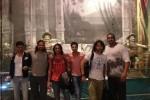 Para pemain Mahabharata tiba di Jakarta, Senin (29/9/2014) (Twitter)