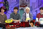 Personel Super Junior di acara Hello Counselor (Soompi.com)