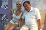 Richard Lugner bersama istrinya Cathy Schmitz (News.com.au)