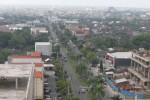 Situasi kawasan Solo Baru yang merupakan kawasan pengembangan Sukoharjo (Ardiansyah Indra Kumala/JIBI/Solopos)