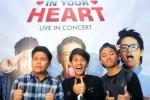 Trio CJR dalam konferensi pers jelang konser tur Always In Your Heart (JIBI/Solopos/Antara/Teresia May)