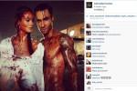 Adam Levine dan Behati Prinsloo dalam video klip Animals (JIBI/Harian Jogja/Instagram)