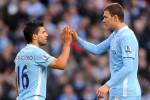 Aguero dan Dzeko, dua pemain pilar Manchester City. Ist/Dok