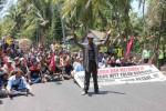 Demo tolak pembangunan Bandara Kulonprogo. (Switzi Sabandar/JIBI/Harian Jogja)