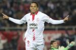 Carlos Bacca membuka gol kemenangan Sevilla lewat penalti lawan Getafe. Ist/winsport.co