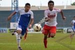 Mantan pemain Persis Solo Yogaspria Mirsadaq kini memperkuat PS Bangka. Ist/Antara