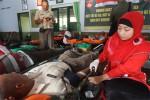 Donor darah massal digelar di Markas Kodim 0731 Kulonprogo, Selasa (2/9/2014). (JIBI/Harian Jogja/Switzy Sabandar)