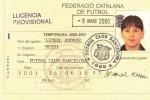 Kartu anggota klub Messi di Barcelona (JIBI/Harian Jogja/Metro)