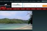 Pulau Kiluan yang ditawarkan di Privatislandonline.com.
