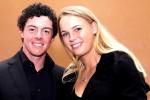 Petenis cantik Denmark, Caroline Wozniacki, saat masih berhubungan mesra dengan pegolf Rory McIlroy. Ist/telegraph.co.uk
