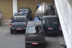 Mobil dinas milik Pemerintah Kabupaten (Pemkab) Wonogiri diparkir di halaman Kantor Setda Wonogiri, Senin (1/9/2014). (Bony EKo Wicaksono/JIBI/Solopos)