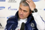 Pelatih Chelsea Jose Mourinho mengomentari gol Lampard ke gawang Chelsea. ist/goal.com