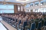 Taruna AAU Jogja tengah mendengarkan pembekalan dari Menteri Pertahanan, Purnomo Yusgiantoro di Gedung Sabang Merauke (GSM), Kamis (18/9/2014). (Sunartono/JIBI/Harian Jogja)
