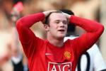 Ekspresi Wayne Rooney saat diberi kartu merah. Ist/telegraph.co.uk