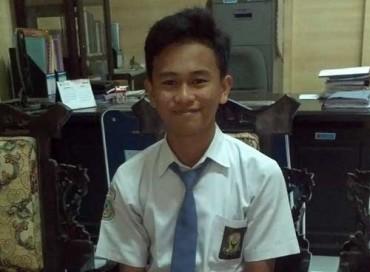 Ketua Duta Seni dan Misi Kebudayaan Pelajar Boyolali, Harstwin Falianttera. (JIBI/Solopos/Irawan Sapto Adhi)