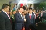 Ahok saat melepas Jokowi (JIBI/detik)