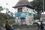 Bangunan Cagar Budaya (BCB) di Kotabaru, Jogja menjadi korban vandalisme. Gambar diambil Senin, 20 Oktober 2014 (JIBI/Harian Jogja/Uli Febriarni)