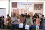 Sejumlah tamu undangan mendapatkan doorprize usai groundbreaking The Palace Condotel dan Apartemen, Minggu (19/10/2014). (Harian Jogja/Abdul Hamied Razak)