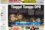 Harian Jogja Edisi Jumat Legi, 24 Oktober 2014 (JIBI/Harian Jogja/dok)