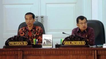 Sidang perdana Kabinet Kerja, Senin (27/10/2014). (Yayus Yuswoprihanto/JIBI/Bisnis)