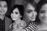 Foto Yuni Shara bersama Raffi Ahmad dan Nagita Slavina (instagram)