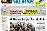 Halaman Depan Harian Umum Solopos edisi Jumat, 24 Oktober 2014