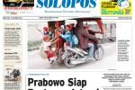 Halaman Depan Harian Umum Solopos edisi Kamis, 16 Oktober 2014