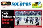 Halaman Depan Harian Umum Solopos edisi Kamis, 23 Oktober 2014
