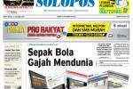 Halaman Depan Harian Umum Solopos edisi Kamis, 30 Oktober 2014