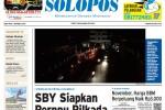 Halaman Depan Harian Umum Solopos edisi Rabu, 1 Oktober 2014