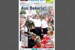 Halaman Depan Harian Umum Solopos edisi Selasa, 21 Oktober 2014