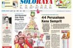 Halaman Soloraya Harian Umum Solopos edisi Kamis, 23 Oktober 2014