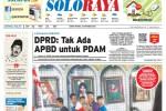 Halaman Soloraya Harian Umum Solopos edisi Kamis, 30 Oktober 2014