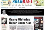 Halaman Soloraya Harian Umum Solopos edisi Rabu, 1 Oktober 2014