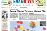 Halaman Soloraya Harian Umum Solopos edisi Selasa, 21 Oktober 2014