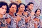 Ilustrasi penampilan para aktor pemeran Pandawa dalam film seri Mahabharata (India-forums.com)