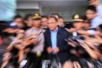 Jero Wacik seusai diperiksa KPK, Kamis (9/10/2014). (Nurul Hidayat/JIBI/Bisnis)
