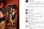 Julia Perez berkebaya hitam (Instagram)
