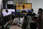 Menteri BUMN Dahlan ISkan memberi sambutan saat launching MTA TV di Gedung MTA Solo, Rabu (1/10/2014). (Ardhiansyah IK/JIBI/Solopos)