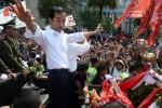Pawai Jokowi dan JK, Senin (20/10/2014). (JIBI/Solopos/Antara/Fanny Octavianus)