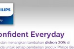 Philips Confident Everyday (Lazada)