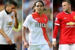 Van Persie, Falcao dan Rooney termasuk trio striker berbahaya di Eropa. Ist/eurosport.com